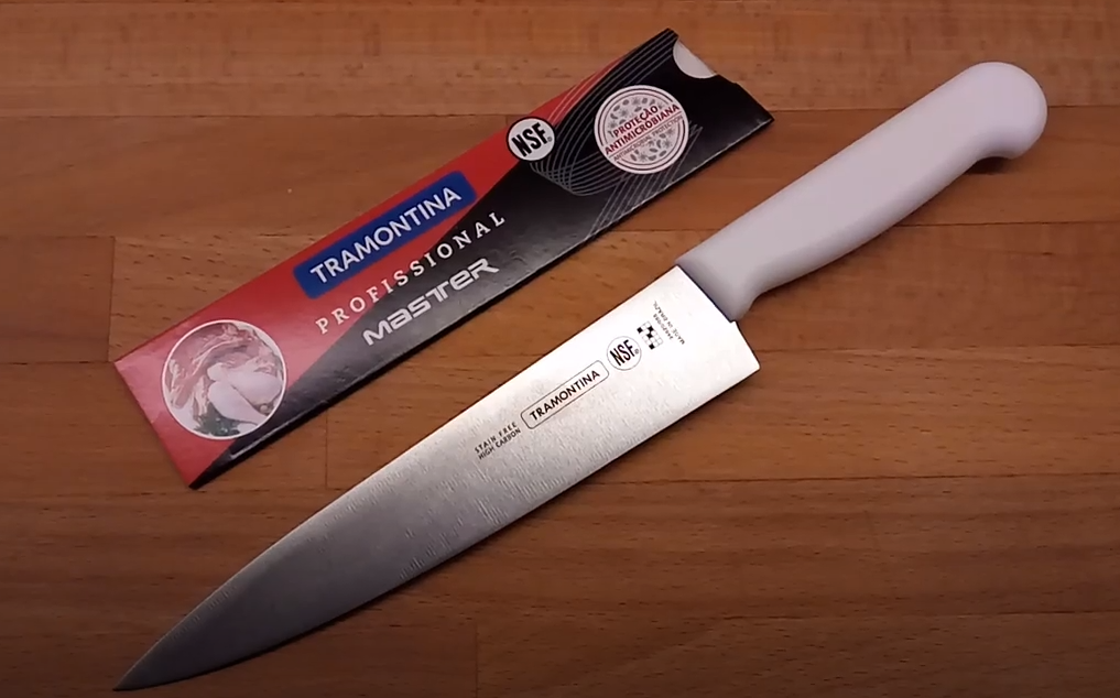 very attractive shape of Tramontina knife