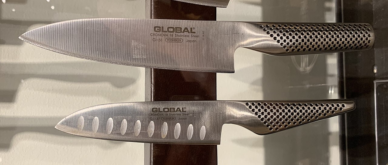stunning combo of Global knives